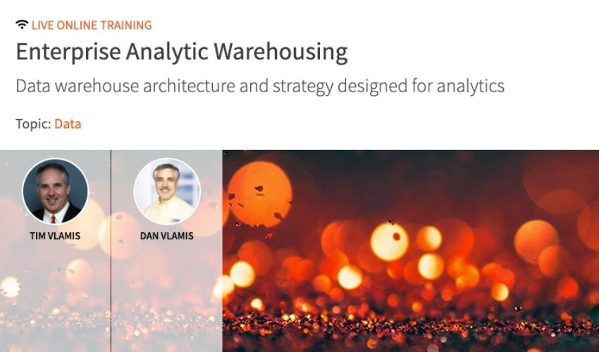 Vlamis Webinar - Data warehouse architecture and strategy designed for analytics